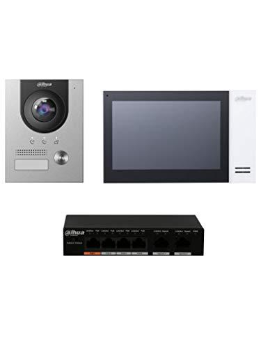 Dahua - Kit de teléfono con videoportero Dahua Complete Surface IP V -...