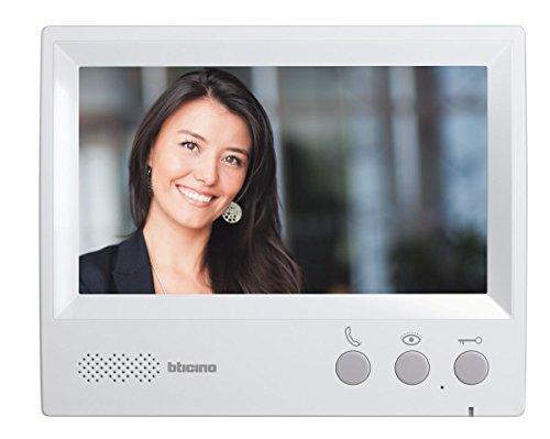 Bticino 315511Kit Video con 4hilos, D1111B, pantalla de 7, Gris