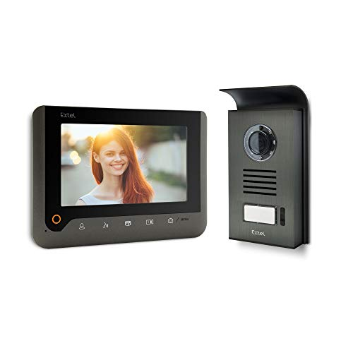 Extel 720287 Videoportero, 1W, Gris