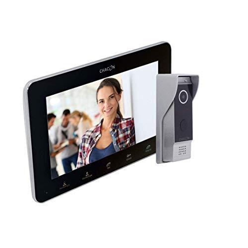 ChaconVideophone IP 2hilos, WIFI, 7' color Negro