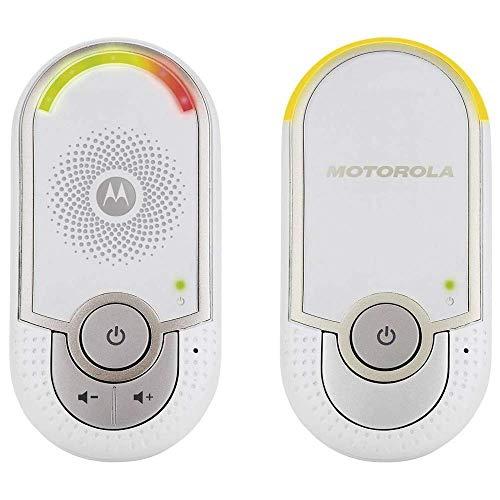 Motorola MBP 8 - Vigilabebés Audio 'Plug-N-Go' con Modo Eco y Luz Nocturna,...