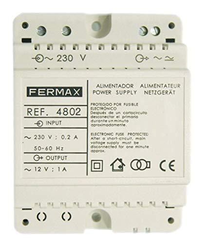 Fermax - Alimentador din 4 12v ac/1a