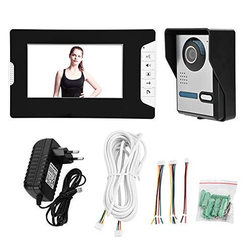 Zoternen 7' Kit de Timbre Digital con cámara de HD TFT a Color,intercomunicador...