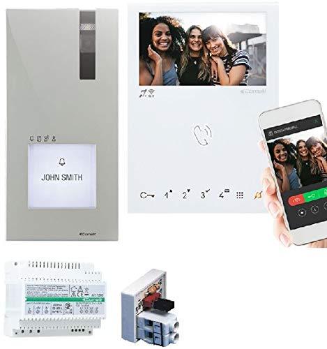 Kit Quadra 2 hilos con monitor manos libres wifi