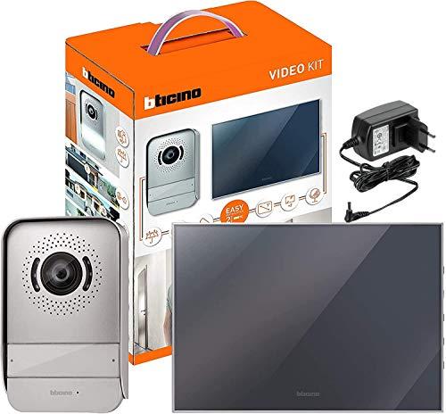 Bticino - 317013 videoteléfono acabado de espejo kit de 2 hilos individual /...